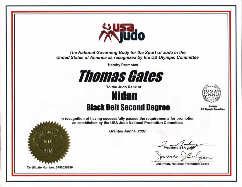 2nd Dan Judo Certification In Korea Red Dragon Diaries