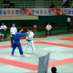 Judo Tournament in Busan, South Korea