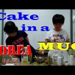 Making Cake in a Mug with Middle School Korean Girls
