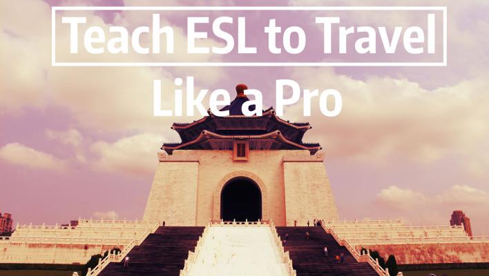teach esl to travel cover