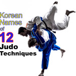Korean Names of the 12 Most Popular Judo Techniques