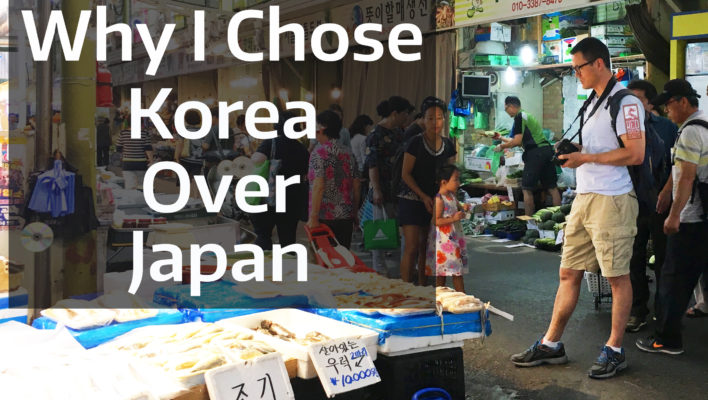 5 Reasons I Chose to Live in Korea Over Japan